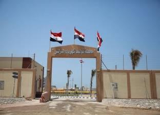 """بالصور  """"محطة كهرباء البرلس"""" تتزين بعلم مصر قبيل افتتاح السيسي لها"""