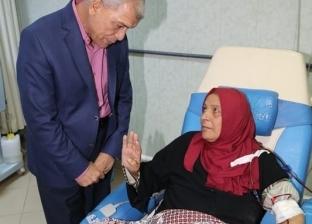 محافظ المنوفية يتفقد مستشفى الباجور العام والوحدة الصحية بكوم الضبع