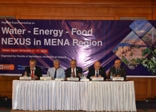 رئيس جامعة الزقازيق: الترابط بين المياه والغذاء والطاقة طريق التنمية