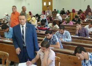الهدوء يسود لجان امتحانات التعليم المفتوح في جامعة المنيا