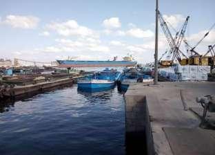 """""""النقل النهري"""": عبور 33 بارجا من وإلى ميناء الاسكندرية"""
