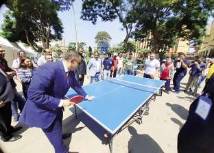 """أول يوم جامعة: """"المتينى"""" يتصدر """"التنس"""".. ومسابقات بـ""""القاهرة"""""""