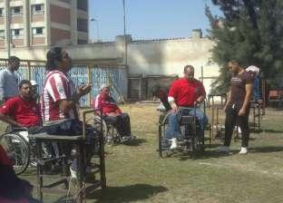 مركز رياضى لذوى الاحتياجات الخاصة فى أوسيم بـ٢٠ جنيهاً فى الشهر