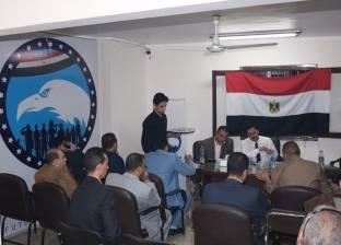 """أمين """"مستقبل وطن"""" يتابع سير انتخابات مركز جرجا بسوهاج"""