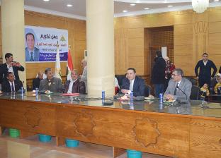 رئيس جامعة بنها يكرّم مدير عام الحسابات الخاصة لبلوغه سن المعاش