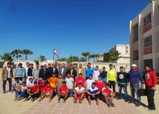 بالصور| انطلاق بطولة الدوري لمدارس جنوب سيناء بمشاركة 5 إدارات تعليمية