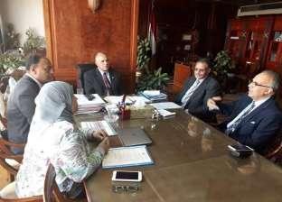 وزير الري يناقش حوكمة المياه العابرة للحدود ودراسات الخزانات الجوفية