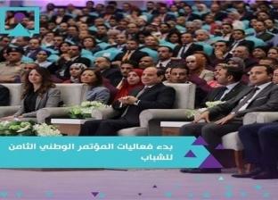 وفد من جامعة الزقازيق يشارك في فعاليات المؤتمر الوطني الثامن للشباب