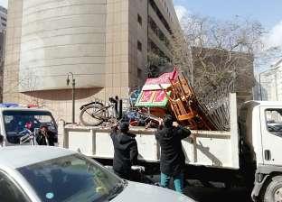 تنفيذ 1580 إزالة إدارية وتحرير 300 محضر لمواجهة المخالفات في القاهرة