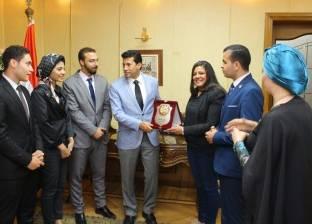 """جامعة 6 أكتوبر تشارك في فعاليات مؤتمر مبادرة برنامج """"شباب تحيا مصر"""""""