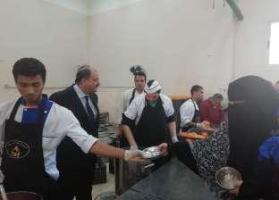 """""""البدويهي"""" يتفقد المدينة الجامعية للطالبات بجامعة الأزهر"""