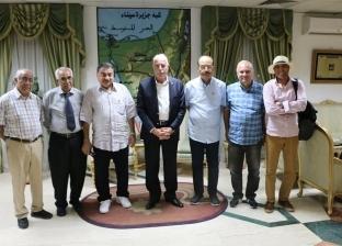 وفد اتحاد الكتاب السياحيين العرب يشيد بمنظومة الأمن بشرم الشيخ