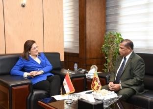 السعيد تبحث مع وزير الإدارة العامة بسيريلانكا التعاون بالإصلاح الإداري