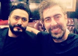 بالصور.. تامر حسني ينتهي من تصوير فيلمه الجديد