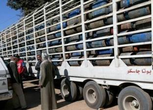 ضبط مدير مصنع لتعبئة البوتاجاز لتصرفه في 4 آلاف أسطوانة ببني سويف