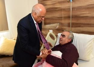 عبدالعال يزور النائب أسامة أبو المجد بعد تعرّض لوعكة صحية في البرلمان