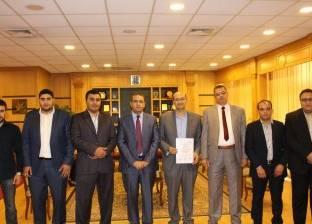 """معمل هندسة الطرق والمطارات بجامعة المنصورة يحصل على اعتماد """"إيجاك"""""""