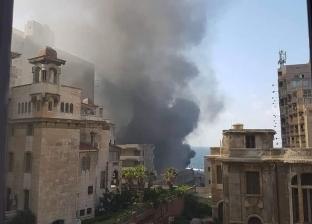 السيطرة على حريق بمصنع لعب أطفال في الإسكندرية