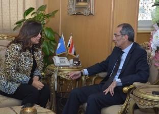 وزير الاتصالات: منصة إليكترونية لتسويق أثاث دمياط