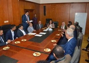 محافظ دمياط تترأس اجتماع مجلس إدارة المنطقة الحرة العامة