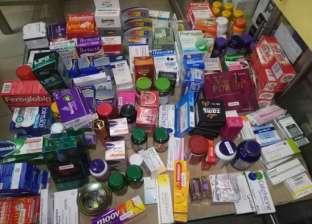 ضبط 7 آلاف قرص أدوية مجهولة المصدر ومحظورة بالشرقية