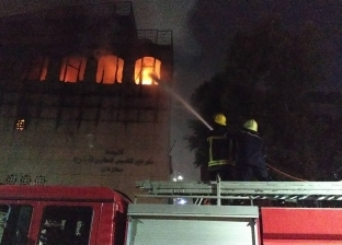 السيطرة على حريق محدود داخل مخزن في طنطا دون خسائر بشرية
