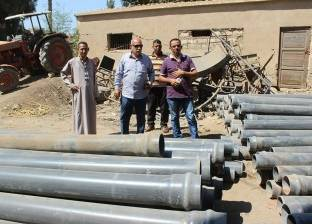 إصلاح الأعطال وتشغيل مرشحات المياه للقرى المحرومة بالمنيا