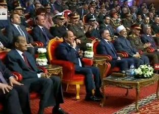 """والد الشهيد أشرف إبراهيم: """"أنا في غاية السعادة بمقابلة الرئيس"""""""