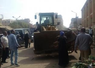 تحرير 250 محضر إشغالات خلال حملات مرافق في أسيوط