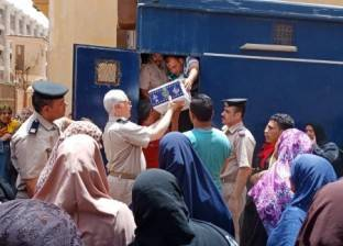 مديرية أمن القليوبية توزع كرتونة رمضان على المواطنين