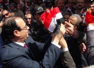محافظ الدقهلية ومدير الأمن يتفقدان لجان أجا وميت غمر