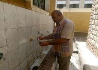 """صور  """"صحة الدقهلية"""" تشن حملات على المدارس للتأكد من نظافة مياه الشرب"""