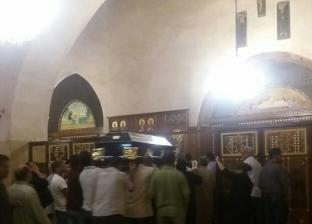 دفن الراهب زينون المقاري بدير أبو مقار في وادي النطرون