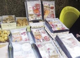 الحكومة تضبط 14 طن «حلوى مولد» غير صالحة