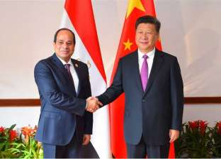 بالفيديو| لحظة وصول السيسي إلى مقر إقامته بالعاصمة الصينية بكين