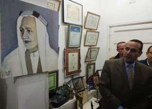 محافظ شمال سيناء يفتتح معرض الفنون التشكيلية بالعريش