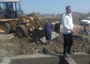 """إزالة 3 عقارات مخالفة بـ""""منتزه الإسكندرية"""""""