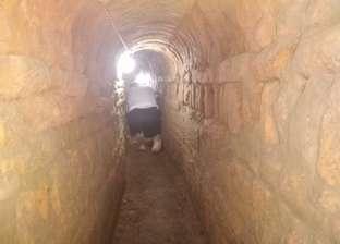 العثور على معبد بطلمي أسفل منزل أثناء التنقيب عن الآثار في سوهاج