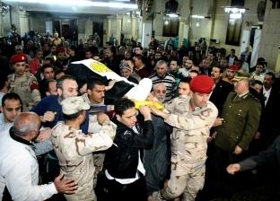 """حكايات من دفتر """"العسكرية المصرية"""": """"على"""" أُصيب بـ60 طلقة لحماية زملائه.. و""""أيمن"""" احتضن """"إرهابى مُفخخ"""""""
