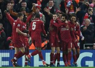 بالصور| «صلاح» يحتفل بالفوز على مانشستر يونايتد في الخامسة فجرا