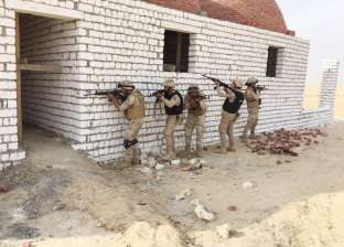 اشتباكات حية للقوات المسلحة مع الإرهابيين بسيناء