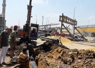 """حل أزمة توصيل المياه بمنطقة """"الصبر"""" بشبرا الخيمة بعد التوقف عام"""