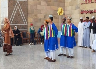 فرقة الخليل السودانية تتألق بمتحف النيل في مهرجان أسوان الدولي
