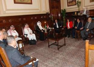 وزير الزراعة يبحث مع نظيره السعودي تكثيف التعاون