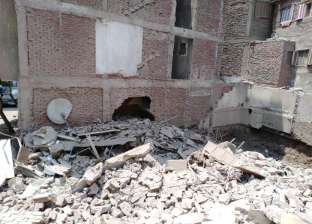 محافظ القاهرة يوجه بتوفير إيواء عاجل للمضارين بانهيار عقار حدائق القبة