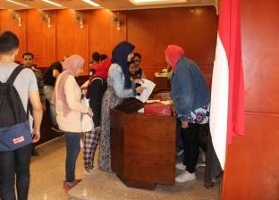 """""""طب حلوان"""": 150 طالبا صوتوا داخل لجان انتخابات اتحاد الطلاب"""