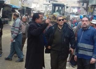 حملة مكبرة لإزالة الإشغالات بشوارع مدينة كفر البطيخ