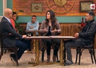 """محمد عز العرب عن أول لقاء مع آيتن عامر: """"صدفة في مسلسل السبع وصايا"""""""