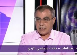 فيديو.. سياسي كردي يبكي على الهواء: يجب إيقاف المجازر التركية