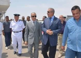محافظ البحر الأحمر يتفقد قرية الحجاج في سفاجا